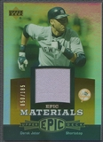 2006 Upper Deck Epic #DJ3 Derek Jeter Materials Dark Orange Jersey #050/185