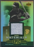 2006 Upper Deck Epic #WM3 Willie McCovey Materials Gold Jersey #16/25