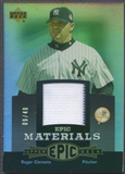 2006 Upper Deck Epic #RC2 Roger Clemens Materials Grey Jersey #09/40