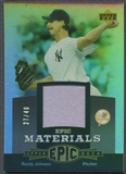 2006 Upper Deck Epic #RJ1 Randy Johnson Materials Grey Jersey #27/40