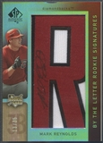 "2007 SP Authentic #116 Mark Reynolds By The Letter ""R"" Rookie Patch Auto #13/35"