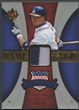 2007 Ultimate Collection #CJ Chipper Jones America's Pastime Memorabilia Patch #03/50