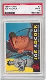1960 Topps Baseball #3 Joe Adcock PSA 7.5 (NM+) *1893