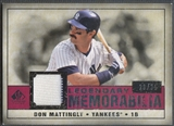 2008 SP Legendary Cuts #DM Don Mattingly Legendary Memorabilia Jersey #28/35