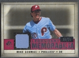 2008 SP Legendary Cuts #MS Mike Schmidt Legendary Memorabilia Jersey #28/35