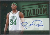 2004/05 Upper Deck Trilogy #PP Paul Pierce Signs of Stardom Auto