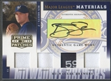 2005 Prime Patches #8 Ben Sheets Major League Quad Jersey Hat Pants Auto #003/100