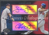 2006 Topps Co-Signers #CS81 Andruw Jones & Chipper Jones Dual Auto