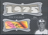 2008 Topps Sterling #4CSA74 Jim Palmer Career Stats Relics Quad Jersey Auto #03/10