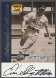 1999 Sports Illustrated Greats of the Game #70 Enos Slaughter Auto