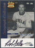 1999 Sports Illustrated Greats of the Game #21 Bob Feller Auto