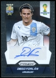 2014 Panini Prizm World Cup Signatures #SDF Diego Forlan Autograph
