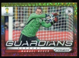 2014 Panini Prizm World Cup Guardians Prizms Yellow and Red Pulsar #12 Manuel Neuer