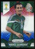 2014 Panini Prizm World Cup Prizms Red White and Blue #146 Andres Guardado