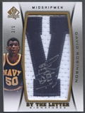 "2012/13 SP Authentic #DR David Robinson By The Letter ""V"" Patch Auto #3/5"