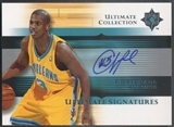 2005/06 Ultimate Collection #USCP Chris Paul Signatures Rookie Auto