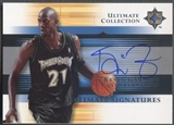 2005/06 Ultimate Collection #USKG Kevin Garnett Signatures Auto