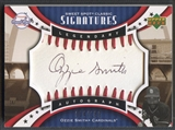 2007 Sweet Spot Classic #OS Ozzie Smith Signatures Sepia Black Ink Auto #034/183