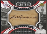 2007 Sweet Spot Classic #LA Luis Aparicio Signatures Barrel Blue Ink Auto #29/75