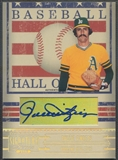 2005 Donruss Signature #21 Rollie Fingers Hall of Fame Auto