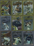 1996 Topps Finest Baseball Partial Set