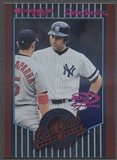 2001 Donruss #205 Derek Jeter Fan Club Stat Line Career #098/108
