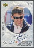 1999 Upper Deck Road to the Cup #TS Tony Stewart Signature Collection Auto
