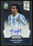 2014 Panini Prizm World Cup Signatures #SMK Mario Kempes Autograph