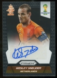 2014 Panini Prizm World Cup Signatures #SWS Wesley Sneijder Autograph