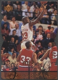 1998 Upper Deck MJx #16 Michael Jordan Timepieces Bronze #149/230