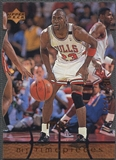 1998 Upper Deck MJx #37 Michael Jordan Timepieces Bronze #214/230