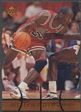 1998 Upper Deck MJx #38 Michael Jordan Timepieces Bronze #089/230