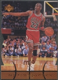 1998 Upper Deck MJx #44 Michael Jordan Timepieces Bronze #032/230