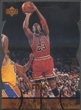 1998 Upper Deck MJx #72 Michael Jordan Timepieces Bronze #012/230