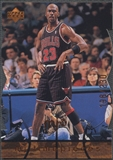 1998 Upper Deck MJx #83 Michael Jordan Timepieces Bronze #198/230