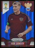 2014 Panini Prizm World Cup Prizms Blue #166 Igor Denisov /199