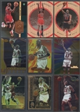 1996-99 Michael Jordan Base And Insert 28 Card Lot