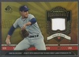 2006 SP Legendary Cuts Baseball #NR2 Nolan Ryan Chronology Materials Jersey