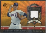 2006 SP Legendary Cuts Baseball #NR3 Nolan Ryan Chronology Materials Jersey