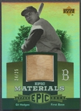 2006 Upper Deck Epic #GH Gil Hodges Epic Materials Gold Bat #24/25