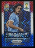 2014 Panini Prizm World Cup World Cup Stars Prizms Red White and Blue #36 Edinson Cavani