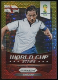 2014 Panini Prizm World Cup World Cup Stars Prizms Yellow Red Pulsar #13 Frank Lampard