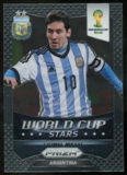 2014 Panini Prizm World Cup World Cup Stars #1 Lionel Messi