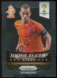 2014 Panini Prizm World Cup World Cup Stars #22 Wesley Sneijder