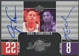 2002/03 Upper Deck Inspirations #128 Jay Williams & Kobe Bryant Auto #089/275