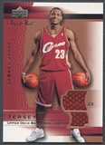 2003/04 Sweet Shot #LJJ LeBron James Rookie Jersey