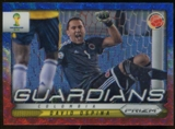 2014 Panini Prizm World Cup Guardians Prizms Blue and Red Wave #25 David Ospina