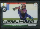 2014 Panini Prizm World Cup Guardians #1 Rais M'Bolhi