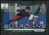 2014 Panini Prizm World Cup Guardians #17 Guillermo Ochoa