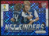 2014 Panini Prizm World Cup Net Finders Prizms Red White and Blue #25 Landon Donovan